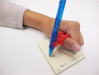 3d print Finger Pen holder horizontal 1