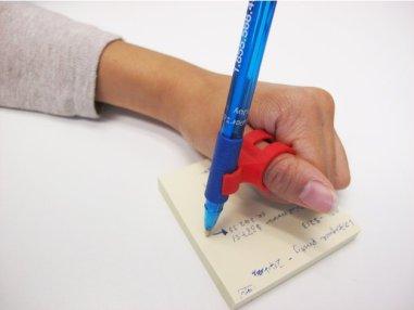 3d print Finger Pen holder horizontal 1