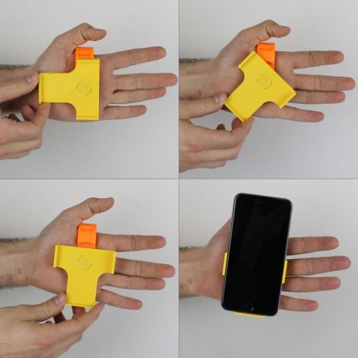 3d print Hand Support for Iphone 6 Plus 6