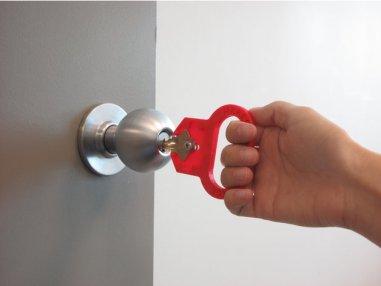 3d print three finger key turner 1