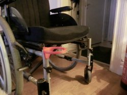 3d print Wheelchair cup holder 3