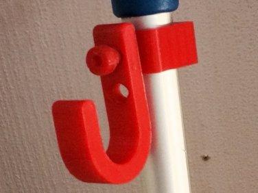 3d print bag holder for crutches 1