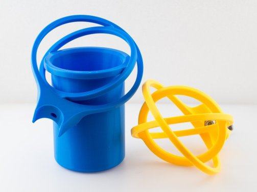 3d print Crutch Cup and Can Holder 4