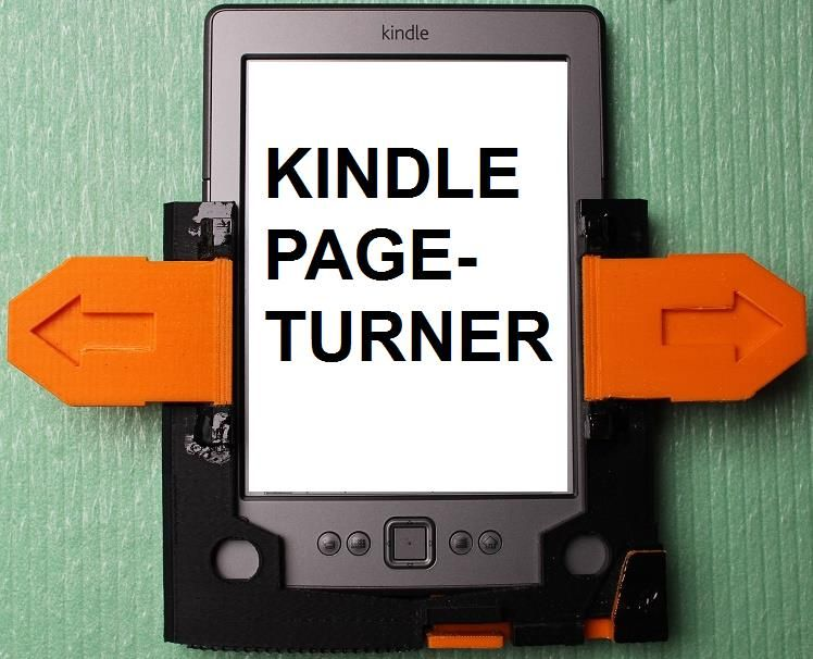 3d print kindle page turner 1