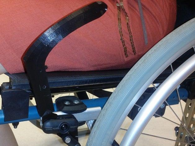 3d print wheelchair brake handle extender 1