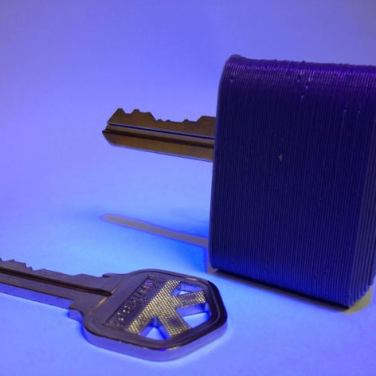 3d print Deadbolt Key Handle 1
