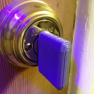 3d print Deadbolt Key Handle 2