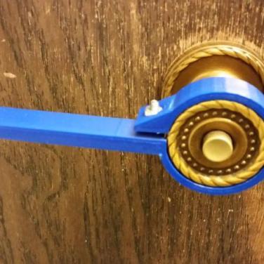 3d print Doorknob Lever 2