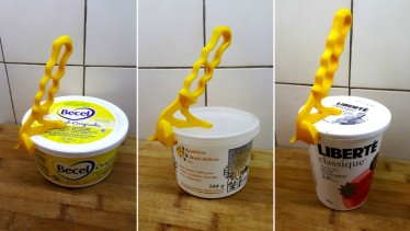 3d print Yogurt Pot Opener 1